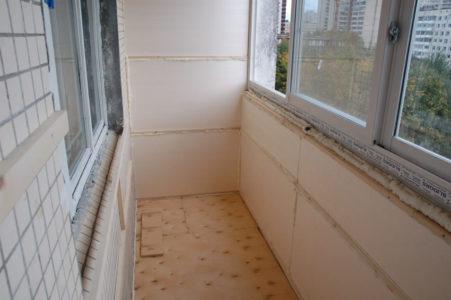 как отделать балкон фото
