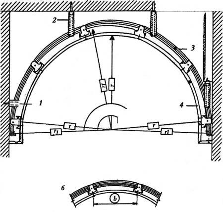 Изготовление арки или ниши в