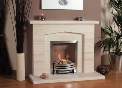 Небольшой и комфортный камин, создает в вашем доме очень уютною и теплую обстановку. Является неповторимой частью декора и в наличии панели подогрева, встроенной в стене, используется для дополнительного обогрева комнаты.
