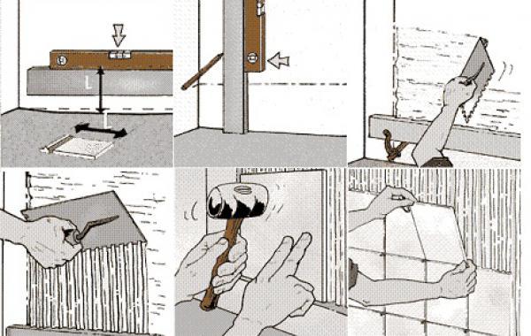 Укладка кафельной плитки своими руками пошаговая инструкция