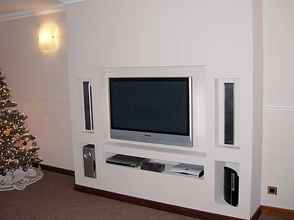 Полки под телевизор фото своими руками