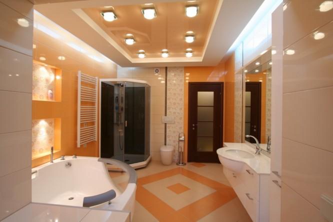 Потолки в туалете своими руками