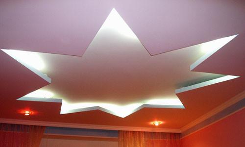 Двухуровневый подвесной потолок из гипсокартона видео