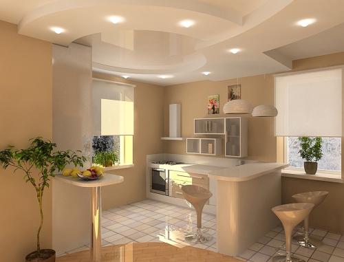 Дизайн кухни как придумать