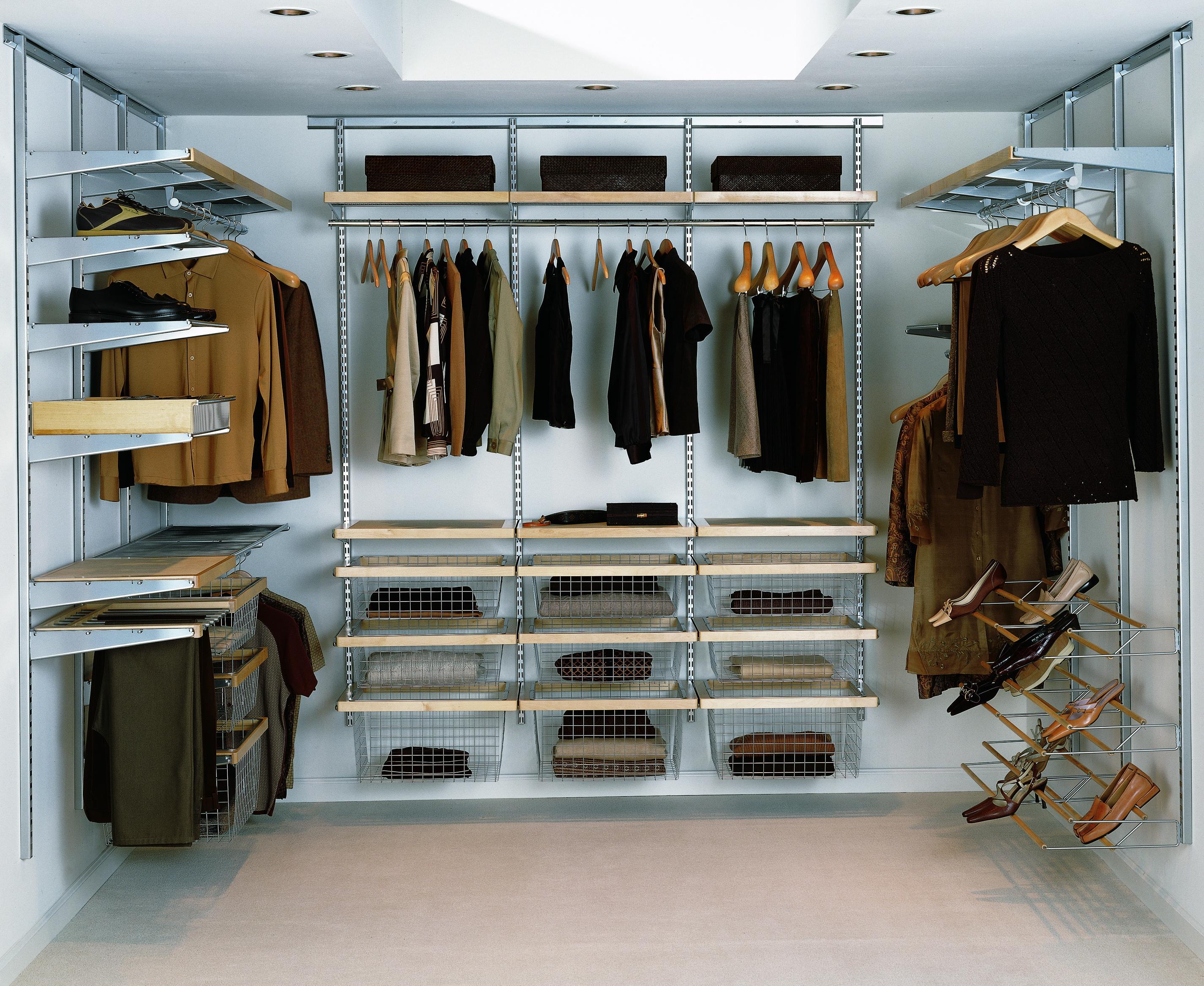 Проект гардеробной комнаты своими руками