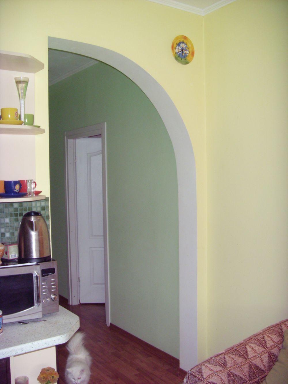 Как сделать арку на кухне фото своими