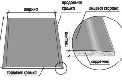 Структура гипоскартонного листа
